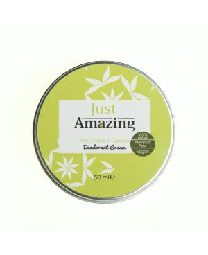100% natural deodorant Just Amazing